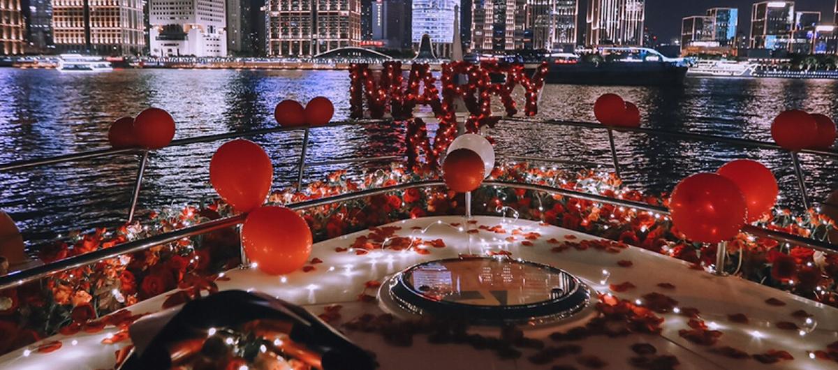 爱迪生号游艇浪漫求婚